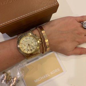 Michael Kors MK-5313 Gold Watch